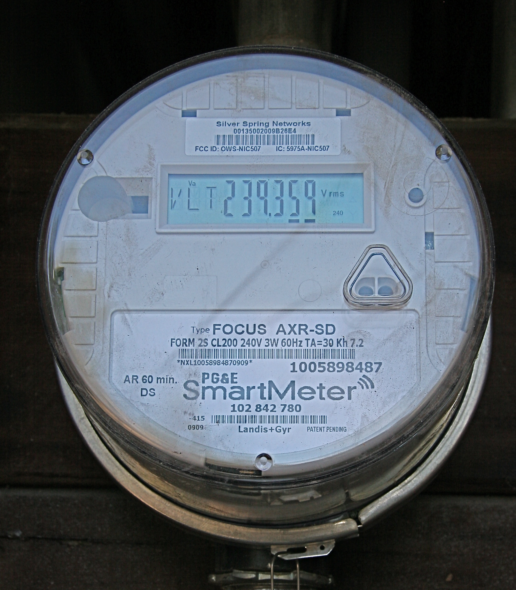 Pg Amp E Smart Gas Meter Reading Rad : Can smart meters succeed on closed standards venture